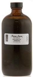 Neemaura Naturals Neem Seed Oil, Azadirachta Indica, 16 Fluid Ounce by Neem Aura