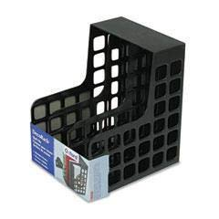 PFX23004 - Color : Black - Oxford DecoRack Plastic Magazine File - Each ()