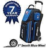 KR Strikeforce Royal Flush Triple Roller Bowling Bag ()