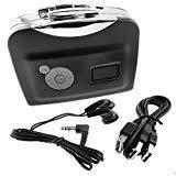 Autoor Ezcap 230 Portable USB Tape Converter Stereo Cassette Tape-to-MP3 Player Auto Version