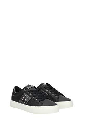 Scarpe Gaming2 Donna Col Mod D19gu52 Bassa Sneaker black Ecopelle Guess AwvdRqA