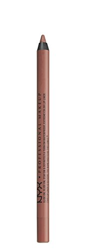 NYX PROFESSIONAL MAKEUP Slide On Lip Pencil - Nude Suede Shoes, Nude With Pink Undertone