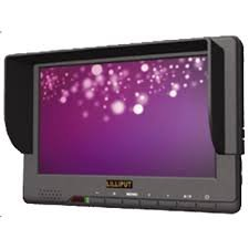 - Professional LILLIPUT 7'' 667GL-70 NP/H/Y/S Camera Monitor / HDMI, YPbPr, AV1/AV2 , HD-SDI Input / HDMI, HD-SDI Output / Color TFT LCD Monitor / With F-970 & QM91D Battery Plate + Mini Stand Base + Sun Shade Cover + Hot-shoe Mount