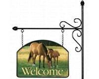Morning Graze Garden Sign