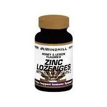 Windmill Vitamins Lozenges (Windmill Zinc Lozenges With Vitamin C 100 Mg - 50 Ea by WINDMILL)