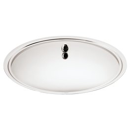 Sambonet ''Living'' Dome cover for round dish cm. 32 Silverplated