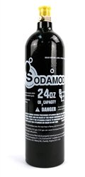 Co2 Replacement Cylinder (SodaMod 24oz Beverage Grade Co2 Tank for Sparkling Water Sodamaker)