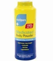 Medipure (Pack of 6) Medicated Body Powder 100% Talc Free 200g