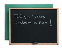 Composition Wall Mounted Chalkboard Size: 2' H x 3' L - Aarco Wall