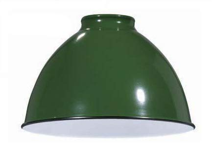 B&P Lamp Industrial Style Metal Dome Shades (Green) ()