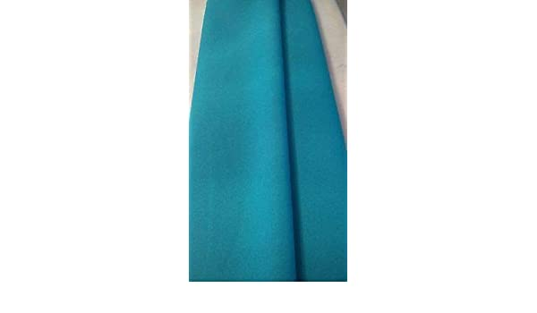 "Turquoise Gabardine 100/% polyester 60 to 62/"" wide Free swatches."