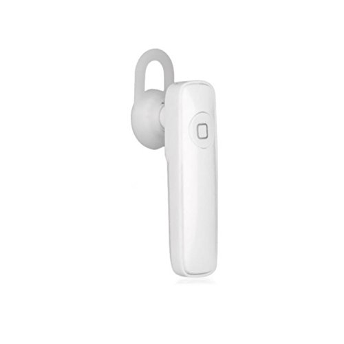 MAZIMARK--Common Wireless Bluetooth Sport Samsung Headset Stereo Earphone for iPhone New (white)
