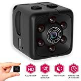 [NEW 2018 UPGRADED] Spy Hidden Camera 1080P Portable Cube by Morvelly | Mini Security Wireless Camera | USB Cam with Night Vision/Motion Detection | For Home and Office - No WIFI Function from M MORVELLI
