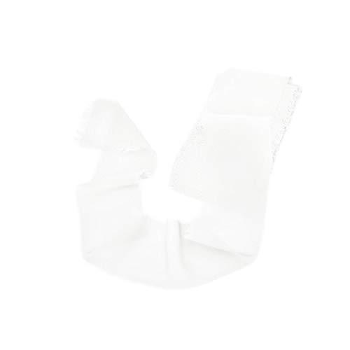 Mixsuperstore Ivory Chiffon Ribbon Handmade Sample Swatch 2-1/2