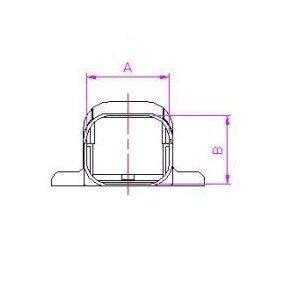 10個セット 配管化粧カバー マンション用出口化粧カバー(先付用) 77タイプ 適用フランジ径130mm以下 ブラック KMD-75S-B_set