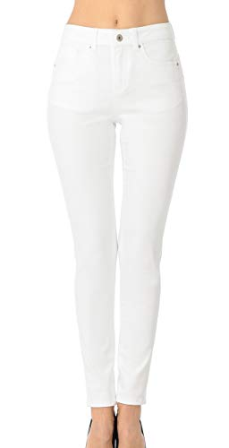 (Wax Jean Denim Women's Juniors Push-Up High-Rise Skinny Jean in Fine Cotton)