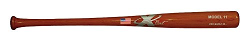 X Bats - Pro Model 11-33 Inch Wood Baseball Bat - Maple - Cherry Finish - BBCOR Certified - (M110 Equivalent)