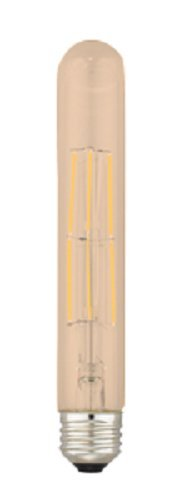 Kodak 55014 T-30 Dimmable LED Tube Light Bulb, 60-watt, E26 Base, Amber