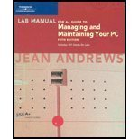Managing and Maintaining Your PC, Andrews, Jean, 0619213442