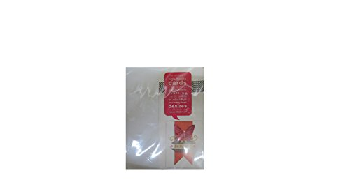 Blank Greeting Cards Envelopes White
