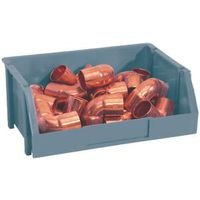 Stack-On Products Storage Bin Medial Blue BIN-8