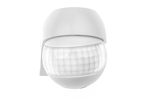 HUBER MOTION 3 slim, Bewegungsmelder 180°, weiß, horizontal und vertikal einstellbar, energieeffizient