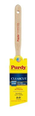 Purdy 144152120 Clearcut Series Glide Angular Trim Paint Brush, 2 inch