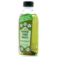 (Coconut Oil Naturel Monoi Tiare Cosmetics 4 oz Oil)