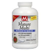 Member's Mark Mature Multi Vitamin - 400ct