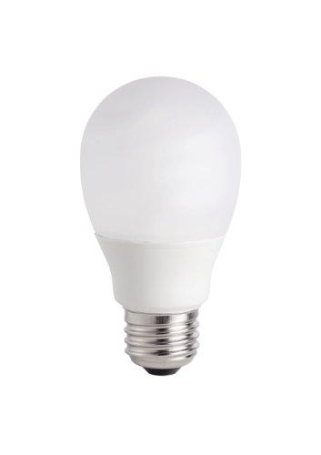 - Philips 415034 14-watt A19 EnergySaver Shatter Resistant Compact Fluorescent Light Bulb, 2-pack