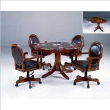 Hillsdale Warrington 5-Piece Game Set - Cherry Dining Room Game Table