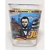 Illinois State Wraparound Shot Glass