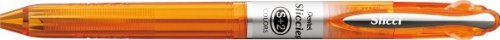 Pentel Sliccies 2 Color Gel Ink Multi Pen 0.5 mm Pencil Body Component - Orange (Ink Gel Sliccies Pentel)