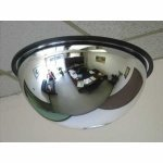 Vision Metalizers DSB1800 Acrylic Dome Mirror (Steel Dome Mirror)