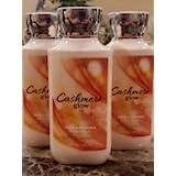 Lot of 3 Bath & Body Works Cashmere Glow Body Lotion 8 Oz Each (Cashmere Glow)