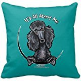 - Black Standard Poodle Iaam R0224cc47fc2e412a92780977180550a7 I5fqz 8byvr Pillow Case