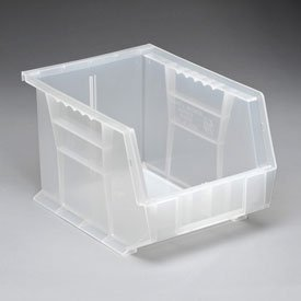 Hang Bin Clear Window - Quantum QUS239CL Clear Ultra Stack and Hang Bin, 10-3/4