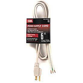 Carol 6' Air Conditioner Replacement Cord, 12awg 20a/250v (20a Conditioner Power)