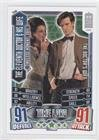 The Eleventh Doctor (Trading Card) 2012 Topps Doctor Who Alien Attax 50 Years - Timeless Moments #TM46