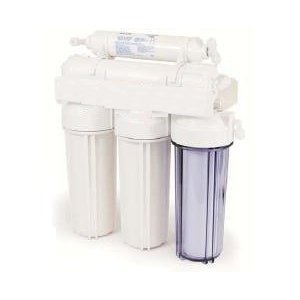 5 Stage Reverse Osmosis Undersink Water Filter System 50 GPD With Storage Tank by Crystal Clear