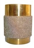 1 Fast Coarse Grit Diamond Stained Glass Grinder Head Bit Quality Brass Core cas