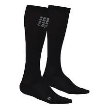 Cep Men's Compression Running O2 Socks Black Size 3 by CEP (Image #1)