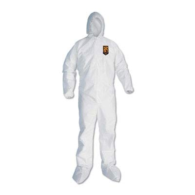 KCC46126 - A30 Elastic Back and Cuff Hooded/Boots Coveralls