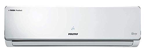 Voltas 1.5 Ton 3 Star Inverter Split AC (Copper 183V CZT3 (R32) White) 2021 July Split AC with inverter compressor: Variable speed compressor which adjusts power depending on heat load. It is most energy efficient and has lowest-noise operation Capacity: 1.5 Ton. Suitable for medium sized rooms . Indoor Unit Dimension (WxHxD) [mm]: 957x302x213; Outdoor Unit Dimension (WxHxD) [mm] : 720x495x270 Energy Rating: 3 Star. ISEER Value: 3.8 (Please refer energy label on product page or contact brand for more details). Power Supply [V/Hz/Ph] : 230 / 50 / 1 Phase