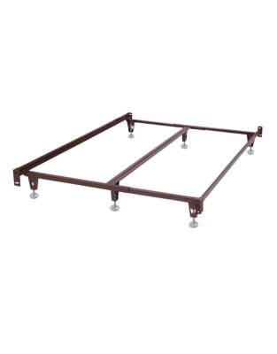 Amazon.com: KING Double Ended Bed Frame - Headboard and Footboard ...