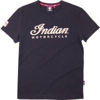 Apparel Ecru (Indian Motorcycle ECRU Tee - Black (5XL))