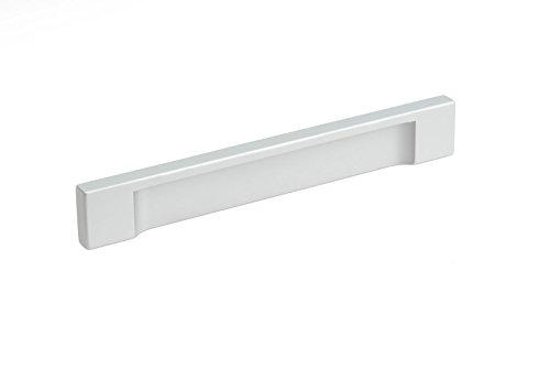(Richelieu Hardware - BP1310112810 - Contemporary Aluminum Pull - 1310-5 1/32 in (128 mm) - Aluminum Finish)