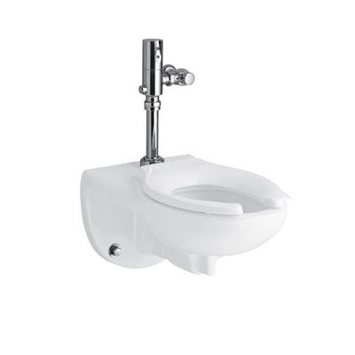 Kingston Toilet Bowl with Top Spud and Bedpan Lugs in White
