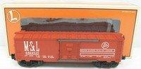 - Lionel 29237 6464-525 Minneapolis & St Louis Box Car