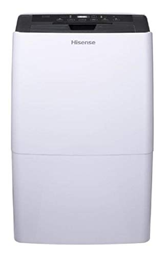 Hisense 70 Pint Dehumidifier DH-7019W1WG Has Garden Hose Attachment Energy Star Rated for Basements and Quiet Operation